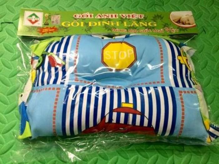 Gối lõm chống méo đầu cho bé giai đoạn sơ sinh4