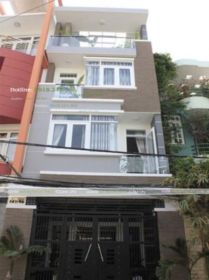 GẤP! Xuất cảnh cần bán nhà HXH Nguyễn Đình Chiểu, Q.3, 85 m2, SHR.