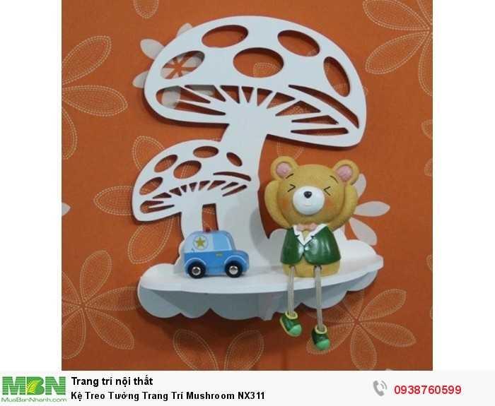 Kệ Treo Tường Trang Trí Mushroom NX3110