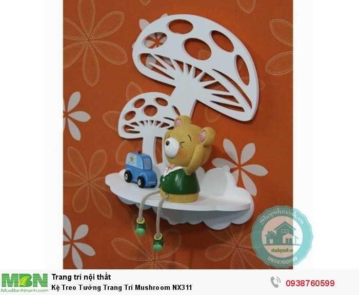 Kệ Treo Tường Trang Trí Mushroom NX3111