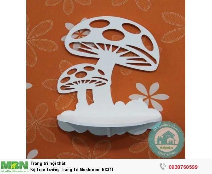 Kệ Treo Tường Trang Trí Mushroom NX3112