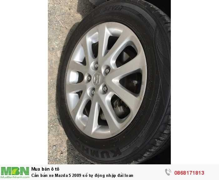 Cần bán xe Mazda 5 2009 số tự động nhập đài loan
