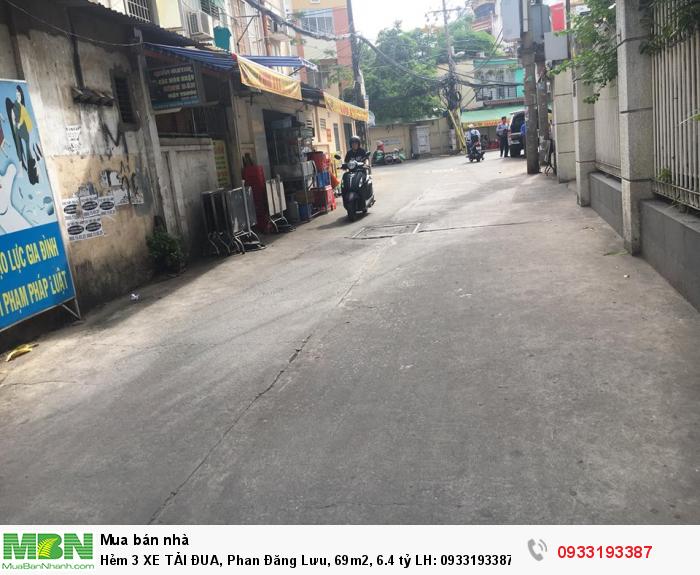 Hẻm 3 Xe Tải Đua, Phan Đăng Lưu, 69m2