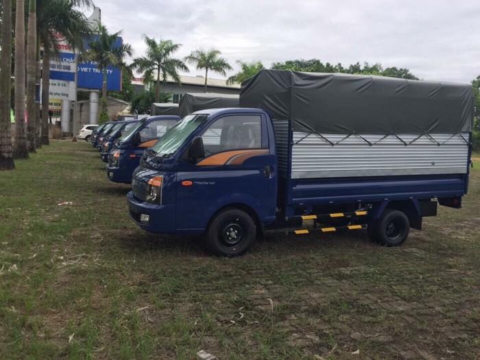 Hyundai Porter 150, HD700 satxi, thùng kín, thùng lửng, giao xe ngay, hỗ trợ vay trả góp 3