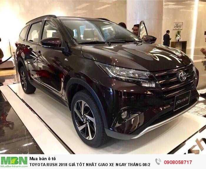 Toyota Rush sản xuất năm 2018 Động cơ Xăng