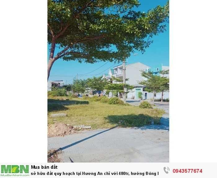 Sở hữu đất quy hoạch tại Hương An chỉ với 480tr, hướng Đông Bắc, diện tích 108m2, lô vuông đẹp