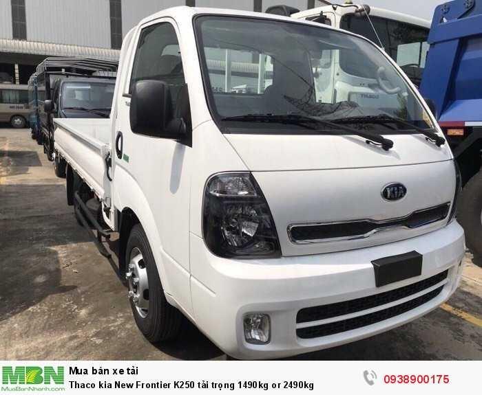 Thaco kia New Frontier K250 tải trọng 1490kg or 2490kg