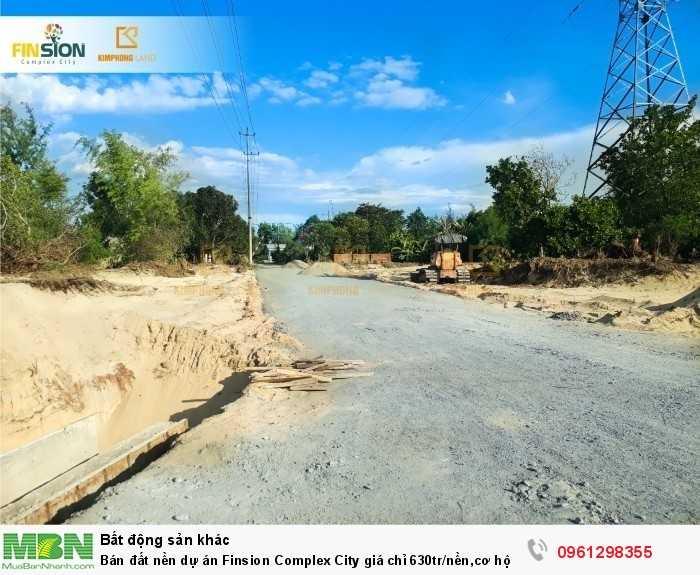 Bán đất nền dự án Finsion Complex City giá chỉ 630tr/nền,cơ hội đầu tư sinh lời