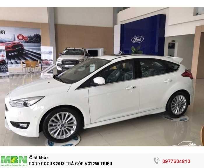 Ford Focus 2018 Trả Góp Với 250 Triệu 2
