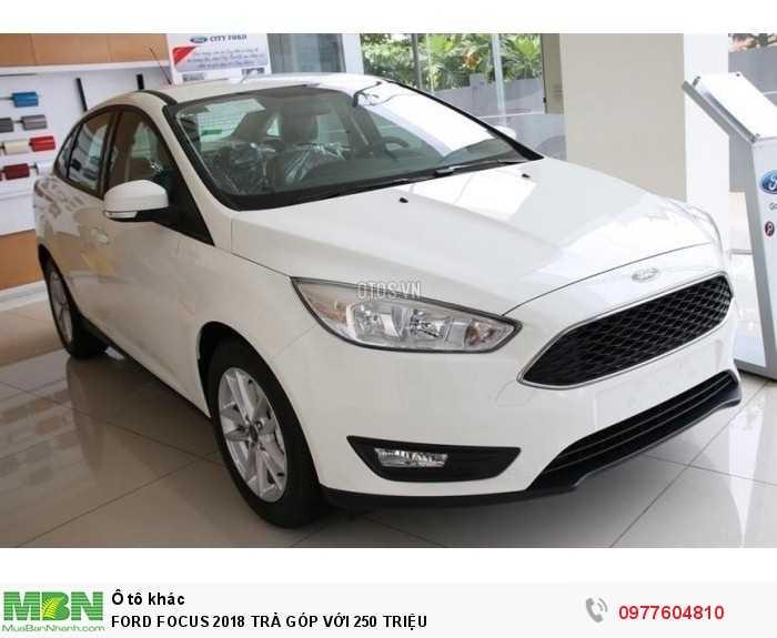 Ford Focus 2018 Trả Góp Với 250 Triệu 3
