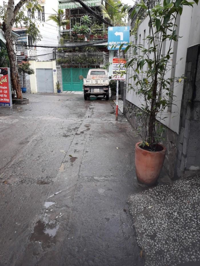 Nhà hẻm 332 Phan Văn Trị p,11 BT đường xe tải
