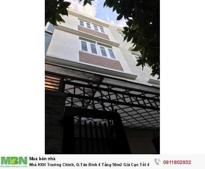 Nhà HXH Trường Chinh, Q.Tân Bình 4 Tầng 50m2 Giá Cực Tốt