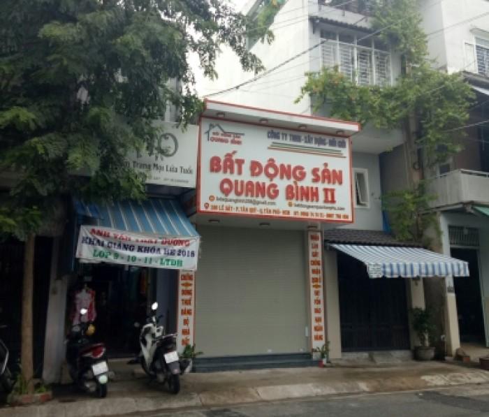 MTKD sầm uất đường Lê Sát đoạn gần Gò Dầu,P Tân Quý