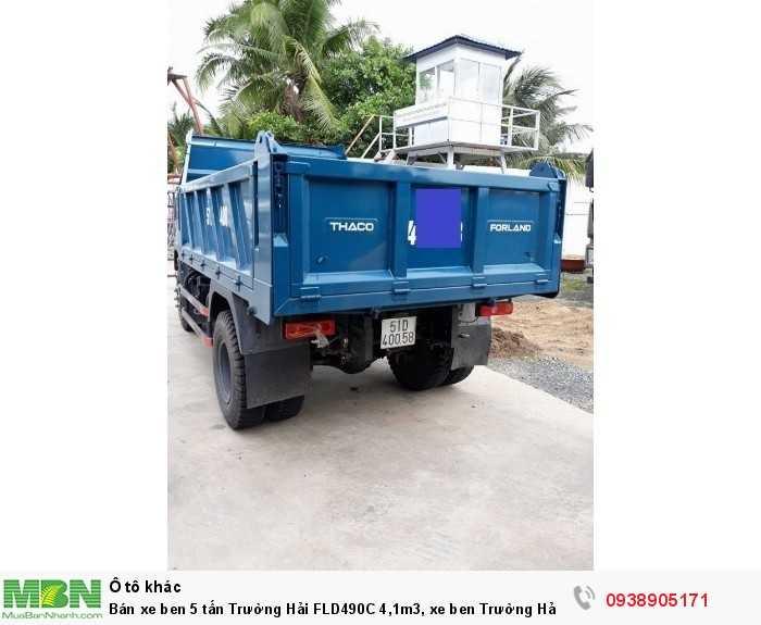 Bán xe ben 5 tấn Trường Hải FLD490C 4,1m3, xe ben Trường Hải có hỗ trợ trả góp 1