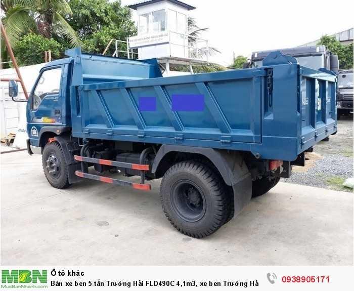 Bán xe ben 5 tấn Trường Hải FLD490C 4,1m3, xe ben Trường Hải có hỗ trợ trả góp 3