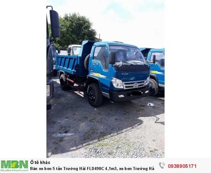 Bán xe ben 5 tấn Trường Hải FLD490C 4,1m3, xe ben Trường Hải có hỗ trợ trả góp 4