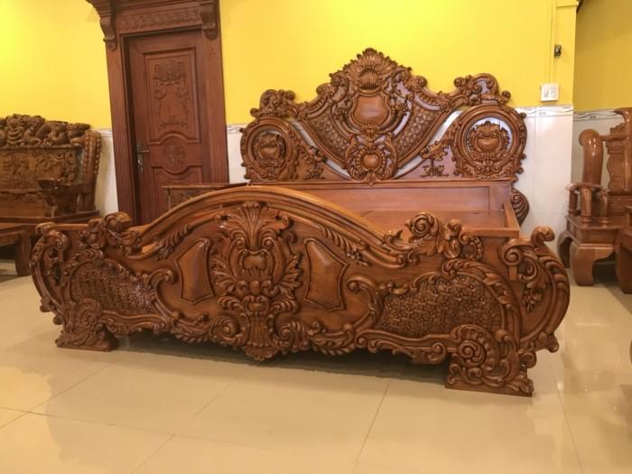 Giường ngủ cổ điển cao cấp4