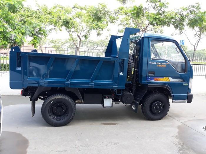 Bán xe ben thaco forland FD250, xe ben 2.5 tấn chạy trong thành phố