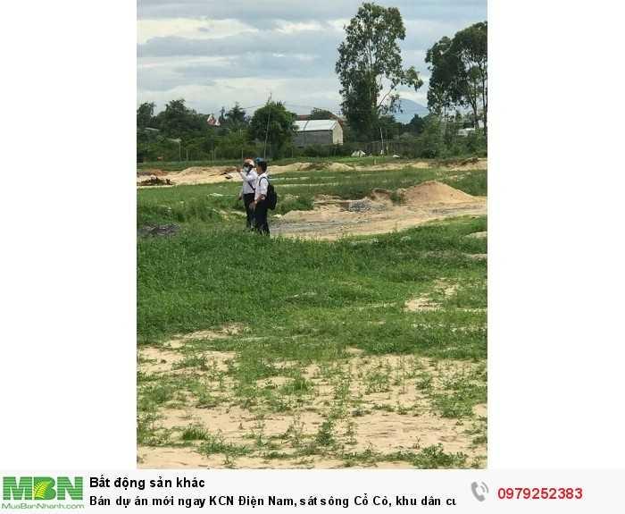 Bán dự án mới ngay KCN Điện Nam, sát sông Cổ Cò, khu dân cư hiện hữu