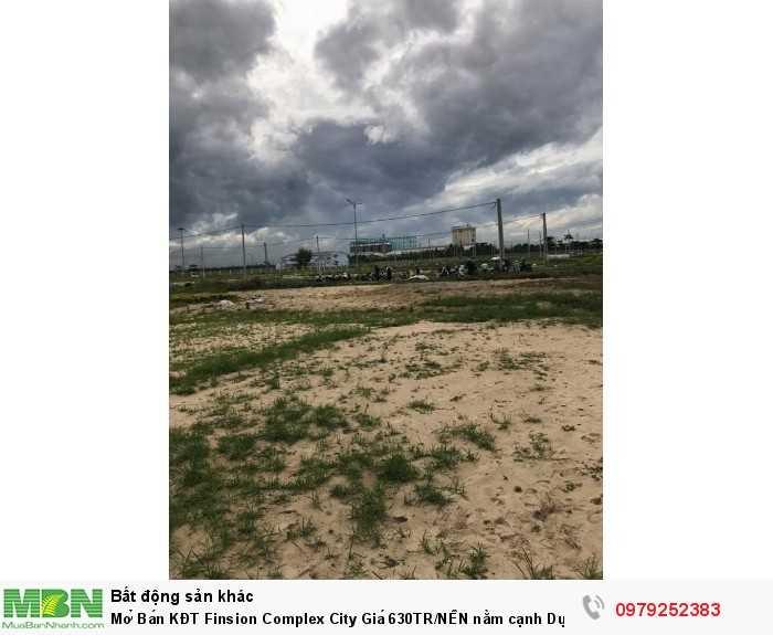 Mở Bán KĐT Finsion Complex City  Giá 630TR/NỀN nằm cạnh Dự Án Sentosa Riverside 2.