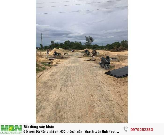 Đất nền Đà Nẵng giá chỉ 630 triệu/1 nền , thanh toán linh hoạt, ven sông cổ cò