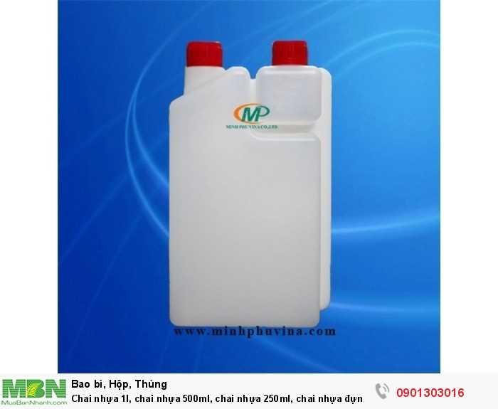 Chai nhựa 1l, chai nhựa 500ml, chai nhựa 250ml, chai nhựa đựng hóa chất2