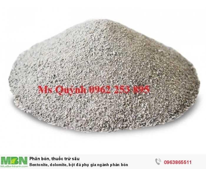 Bentonite, dolomite, bột đá phụ gia ngành phân bón2