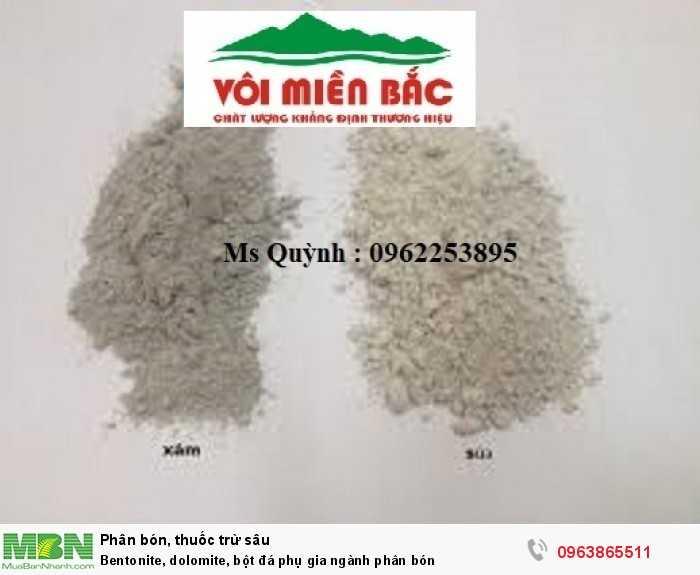 Bentonite, dolomite, bột đá phụ gia ngành phân bón8