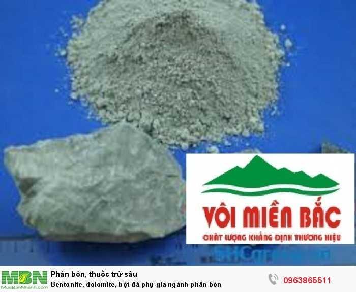 Bentonite, dolomite, bột đá phụ gia ngành phân bón10