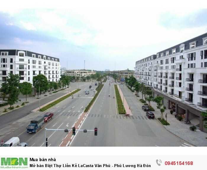 Mở bán Biệt Thự Liền Kề LaCasta Văn Phú - Phú Lương Hà Đông Hà Nội