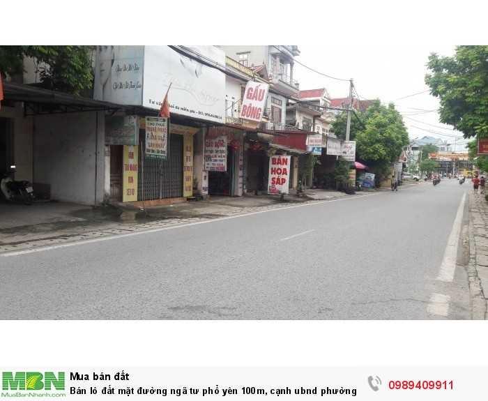 Bán Lô Đất Mặt Đường Ngã Tư Phổ Yên 100M, Cạnh Ubnd Phường Ba Hàng