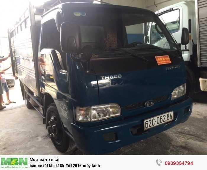 Bán xe tải Kia K165 đời 2016 máy lạnh