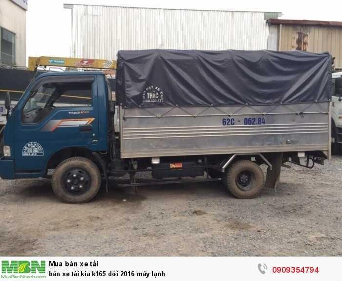 Bán xe tải Kia K165 đời 2016 máy lạnh 3