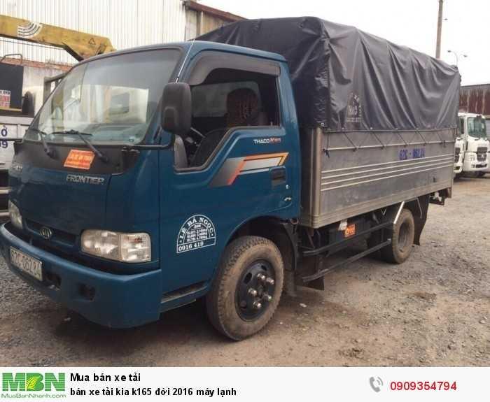 Bán xe tải Kia K165 đời 2016 máy lạnh 4