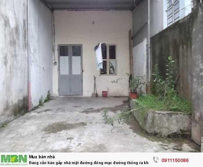 Đang cần bán gấp nhà mặt đường đông mạc đường thông ra khu đô thị thống nhất Nam Định