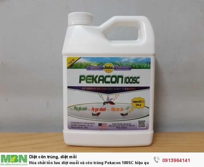 Hóa chất tồn lưu diệt muỗi và côn trùng Pekacon 100SC hiệu quả trong gia dụng và y tế