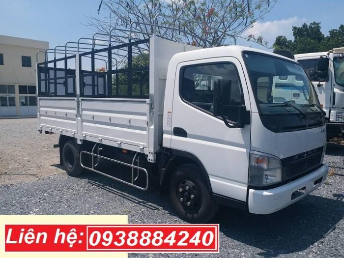 Bán xe tải Nhật Bản 3.5 tấn Mitsubishi Fuso Canter 6.5 tại Long An, Tiền Giang, Bến Tre