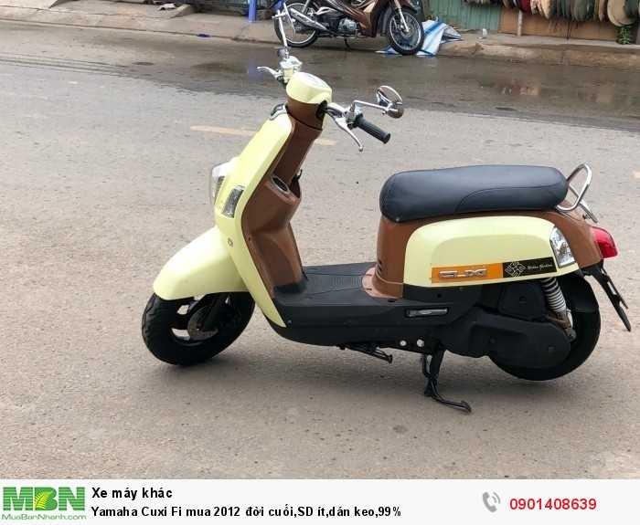 Yamaha Cuxi Fi mua 2012 đời cuối,SD ít,dán keo,99%
