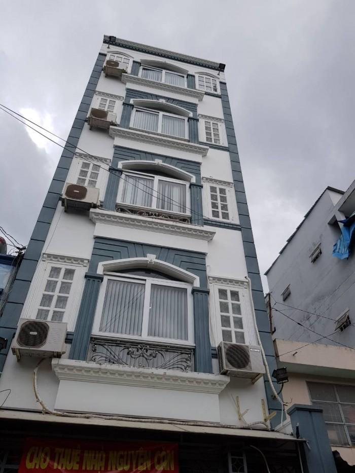 Bán gấp nhà MT Khánh Hội, Q4. 5 lầu, dt 125m2,giá 20,4 tỷ.shr