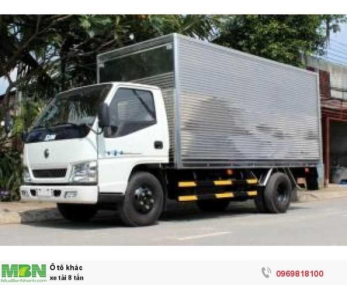 Xe tải 1.7 tấn hỗ trợ trả góp 80% giá trị xe lãi xuất thấp 4