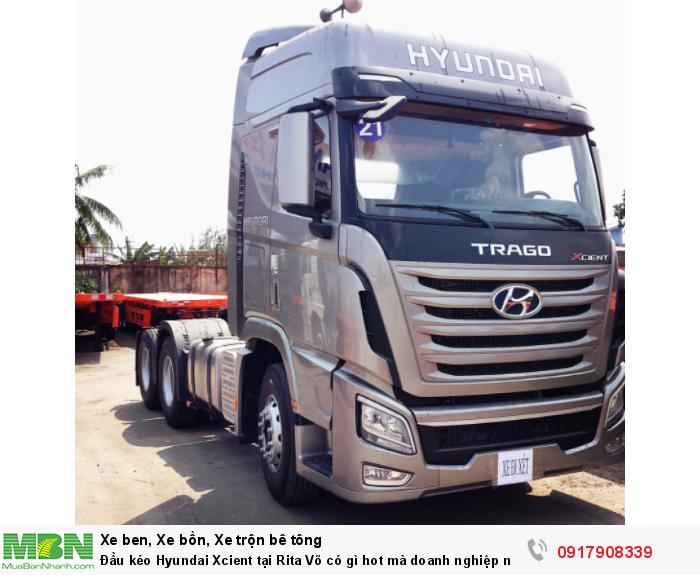 Đầu kéo Hyundai Xcient tại Rita Võ có gì hot mà doanh nghiệp nào cũng muốn mua ngay 0