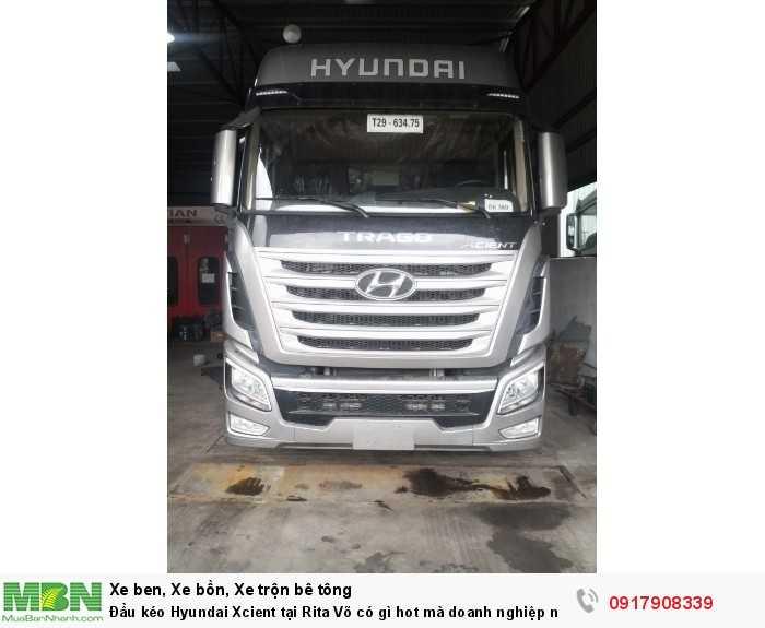 Đầu kéo Hyundai Xcient tại Rita Võ có gì hot mà doanh nghiệp nào cũng muốn mua ngay 2