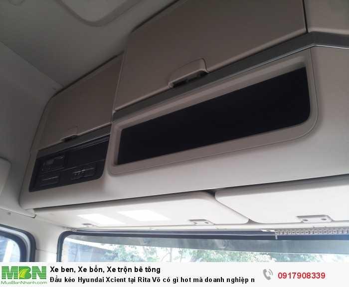 Đầu kéo Hyundai Xcient tại Rita Võ có gì hot mà doanh nghiệp nào cũng muốn mua ngay 8