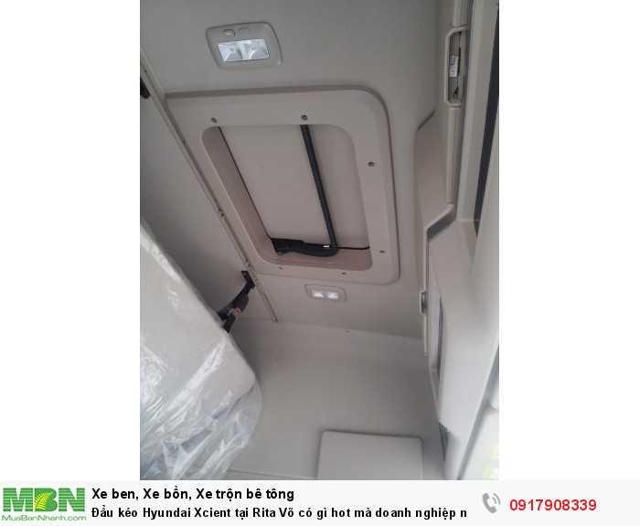 Đầu kéo Hyundai Xcient tại Rita Võ có gì hot mà doanh nghiệp nào cũng muốn mua ngay 10