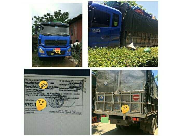 Bán xe ôtô tải Trường Giang 17.9 tấn