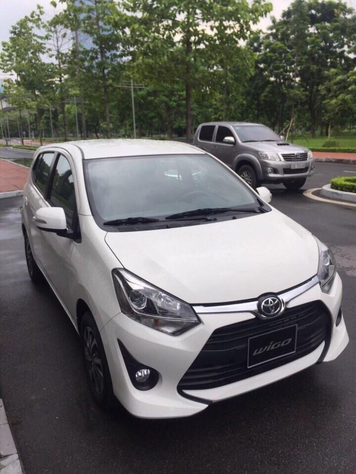 Toyota Wigo 1.2 nhập khẩu nguyên chiếc, nhiều màu giao sớm, hỗ trợ vay tới 90%