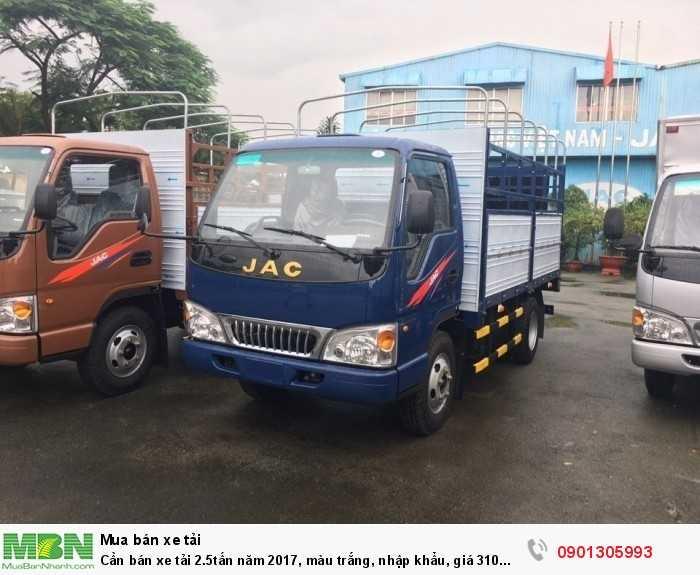Xe tải nhãn hiệu JAC 2T4 nhập khẩu giá tốt tại miền nam .
