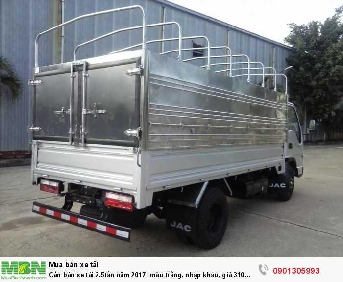 Xe tải nhãn hiệu JAC 2T4 nhập khẩu giá tốt tại miền nam . 2