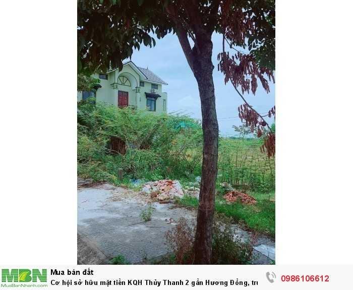 Cơ hội sở hữu mặt tiền KQH Thủy Thanh 2 gần Hương Đồng, trục đường Tự Đức, giá chỉ 10tr/m2