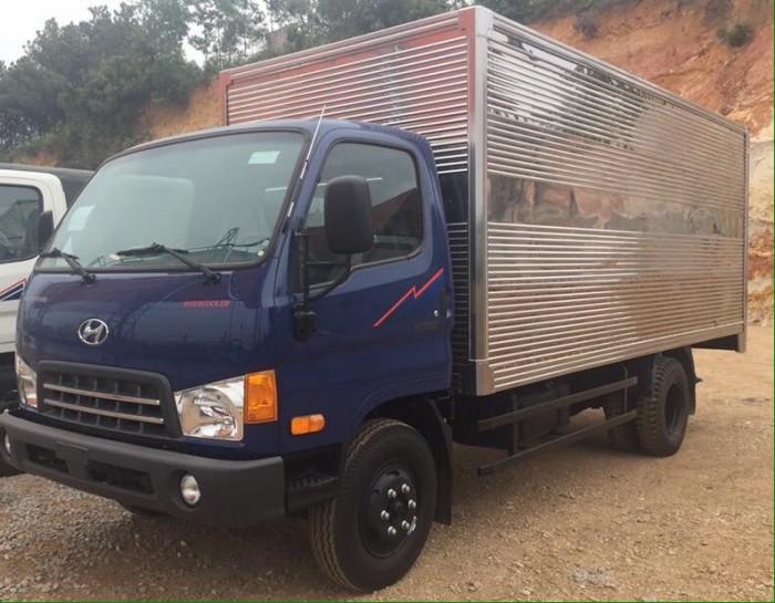 Xe tải HD700 Đồng vàng satxi, thùng kín, thùng bạt 4